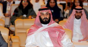 "Saudi crown prince Mohammed bin Salman: The supply of rockets to the Iran-allied rebel Houthi movement could ""constitute an act of war against the Kingdom"", state news agency SPA quoted him as saying. Photograph:  Hamad I Mohammed/Reuters"
