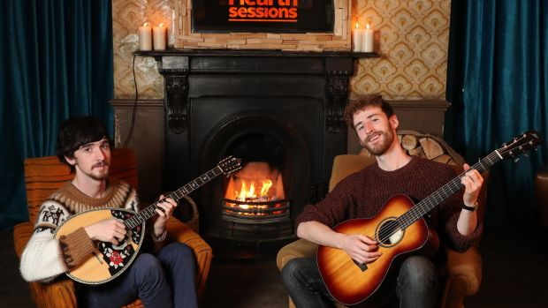 "Ye Vagabonds: ""We're cosy people, we enjoy corners of pubs and do quite a few pub sessions. Our music is fireside music so we thought this was a perfect fit for us."""