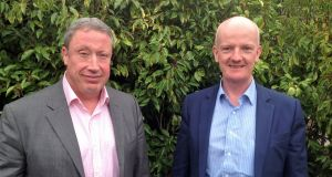 Gerry Gorman and David Crowley launched fintechjobs.ie in October this year