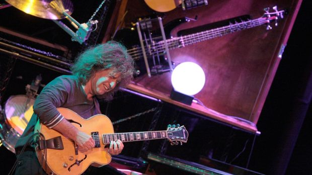 "Pat Metheny: ""I just wanted to listen to Miles and Sonny Rollins and 'Trane and Wes Montgomery."" Photograph: Kenzo Tribouillard/AFP/Getty Images"