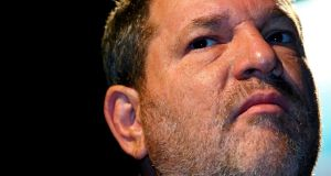 A file image of movie mogul Harvey Weinstein. New reports allege he went to great lengths to prevent the publication of stories including allegations of sexual harassment and assault against him. Photograph: Steve Crisp/Reuters.