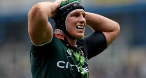 Bob Casey playing for London Irish in 2011. Photograph: Scott Heavey/Getty Images