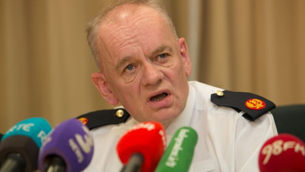 Assistant Garda Commissioner John O'Driscoll said the Garda operation was highly significant. Photograph: Collins