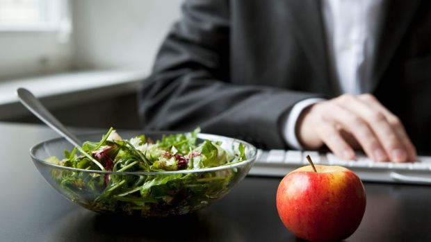 Free fruit in the workplace is a great reward for employees making the healthy decision. Photograph: Getty Images