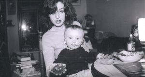 Elske Rahill with her son Phoenix when he was one.