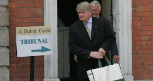 Businessman Denis O'Brien at the Moriarty tribunal in 2007. Photograph: Alan Betson