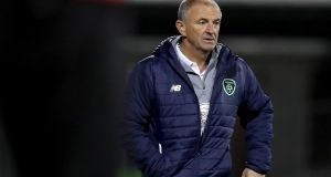 "Republic of Ireland Under-21 manager Noel King: ""Nobody is in any doubt about the enormity of the challenge we face."" Photograph: Inpho"