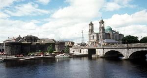 A view of Athlone Castle and the Shannon