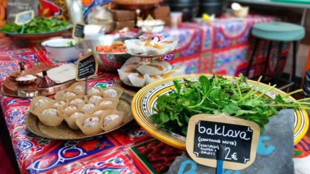 Enjoy tasty treats from all over the world at Fusion Sundays in Dublin's Newmarket Square