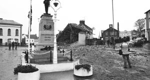 The scene of the Enniskillen bombing the day after the atrocity in November 1987. Photograph: Matt Kavanagh