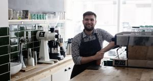 Niall Wynn, owner of Proper Order Coffee Co, is representing Ireland at the World Barista Championships in Seoul this week. Photograph: Al Higgins