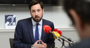 Minister for Local Government Eoghan Murphy has confirmed all water charges will not be refunded before Christmas, as originally planned. Photograph: Cyril Byrne.