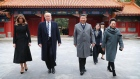 China, China, China: Trump tours the Forbidden City