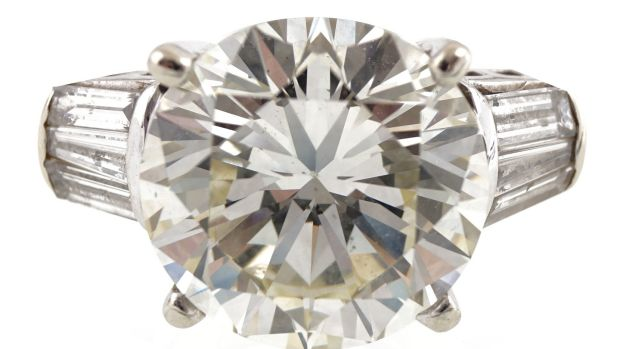 Brilliant-cut diamond of 8.30cts, €80,000-€120,000 at Sheppard's