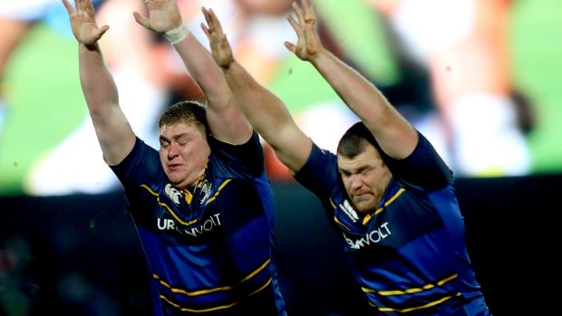 Furlong and McGrath are friends and teammates but the intensity never dips. Photo: James Crombie/Inpho