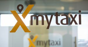 Mytaxi developments include the launch of a Google Maps software development kit to provide better accuracy and provide better time estimates for users.   Photograph: Krisztian Bocsi/Bloomberg via Getty