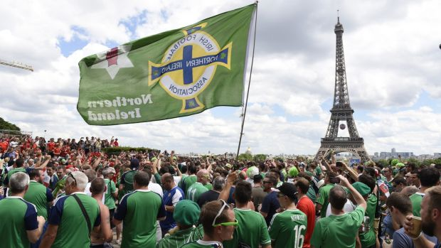 Northern Ireland fans had plenty to celebrate when they reached France in 2016. Photo: Getty Images