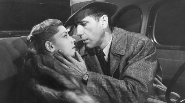 Lauren Bacall and Humphrey Bogart in 'The Big Sleep' (1946)