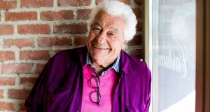 Antonio Carluccio at the opening of  Carluccio's restaurant and food shop in Glasthule, Co Dublin in 2015. Photograph:  Andres Poveda