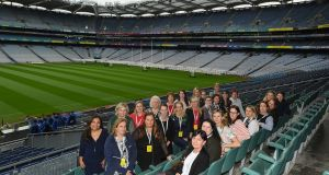 Women at the  recent Olympic Council of Ireland  workshop in Croke Park