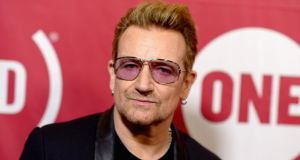 "U2 singer Bono. ""Philanthropy coupled with large-scale tax avoidance is just ego-enhancing crumbs tossed selectively from the (very) wealthy table."" Photograph: Dave Kotinsky/Getty Images"