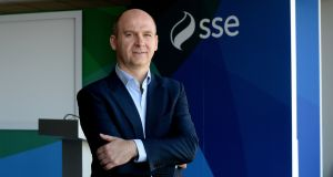 Stephen Wheeler, MD of SSE Ireland. Photograph: Cyril Byrne