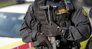 Gardaí in Dublin have arrested four men in connection with a recent spate of burglaries in the Midlands area. Photograph: Dara Mac Dónaill/The Irish Times.