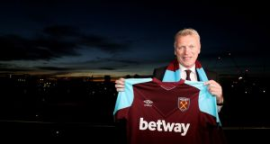 David Moyes was warned his new players he will be taking a hard line approach at West Ham. Photograph: Steven Paston/PA
