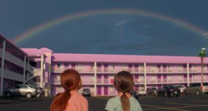 Sean Baker's The Florida Project set in the shadows of Orlando's Disney World, where the hotels that once catered to budget-minded tourists are filled with homeless welfare families