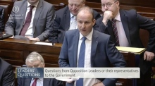 Martin accused of using 'unparliamentary' language by Taoiseach