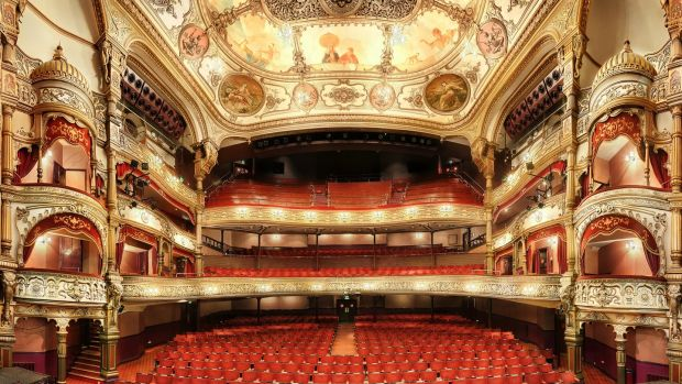 The Grand Opera House in Belfast, where Peter Pan is the pantomime this year.