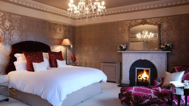 The Ava Gardner bedroom in Gatsby House, Ardara, Co Donegal.