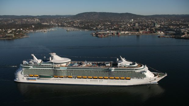 Royal Caribbean International's Independence of the Seas. The liner is having a major refit and will return to service in May 2018