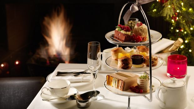 Festive afternoon tea begins on December 1st at the Intercontinental Hotel Ballsbridge, stay for Christmas from €475pps
