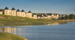 View of Lough Erne Resort on the banks of  Fermanagh's Lough Erne