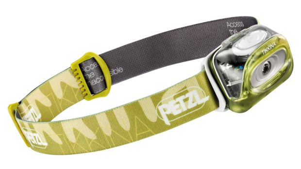 The Petzl Tikkina head torch, €24.99, is invaluable in the hills when darkness sets in.