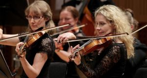 Members of the RTÉ Concert Orchestra pictured at the National Concert Hall last year. Photograph: Mark Stedman.