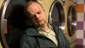 Spinning into madness: Toby Jones as Carl in Kaleidoscope.