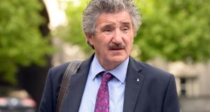 "Minister of State John Halligan told the interviewee ""I know I shouldn't be asking this"". Photograph: Cyril Byrne."