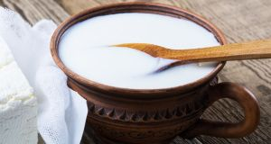 Kefir contains living microorganisms that can survive in the digestive tract, aiding digestion, bolstering the immune system and helping absorb large amounts of nutrients from food. Photograph: Getty Images