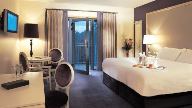 One of the bedrooms in Hotel Kilkenny