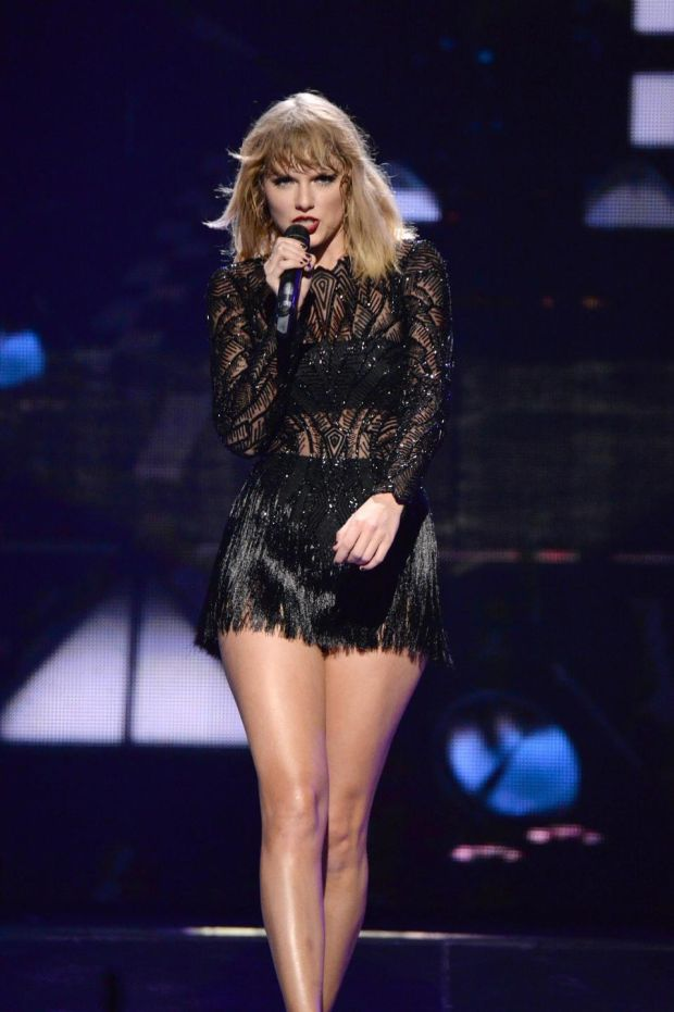 Kanye dig it? Taylor Swift's Look What You Made Me Do misfired, but Ready for It? and Gorgeous hit the target. Photograph: Kevin Mazur/Getty Images