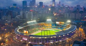Beijing Guoan: Workers' Stadium, the club's ground. Photograph: Sino/Getty