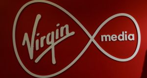 The Virgin Media brand was introduced to Ireland in 2015 by Liberty Global, its American owner. Photograph: Dara Mac Dónaill