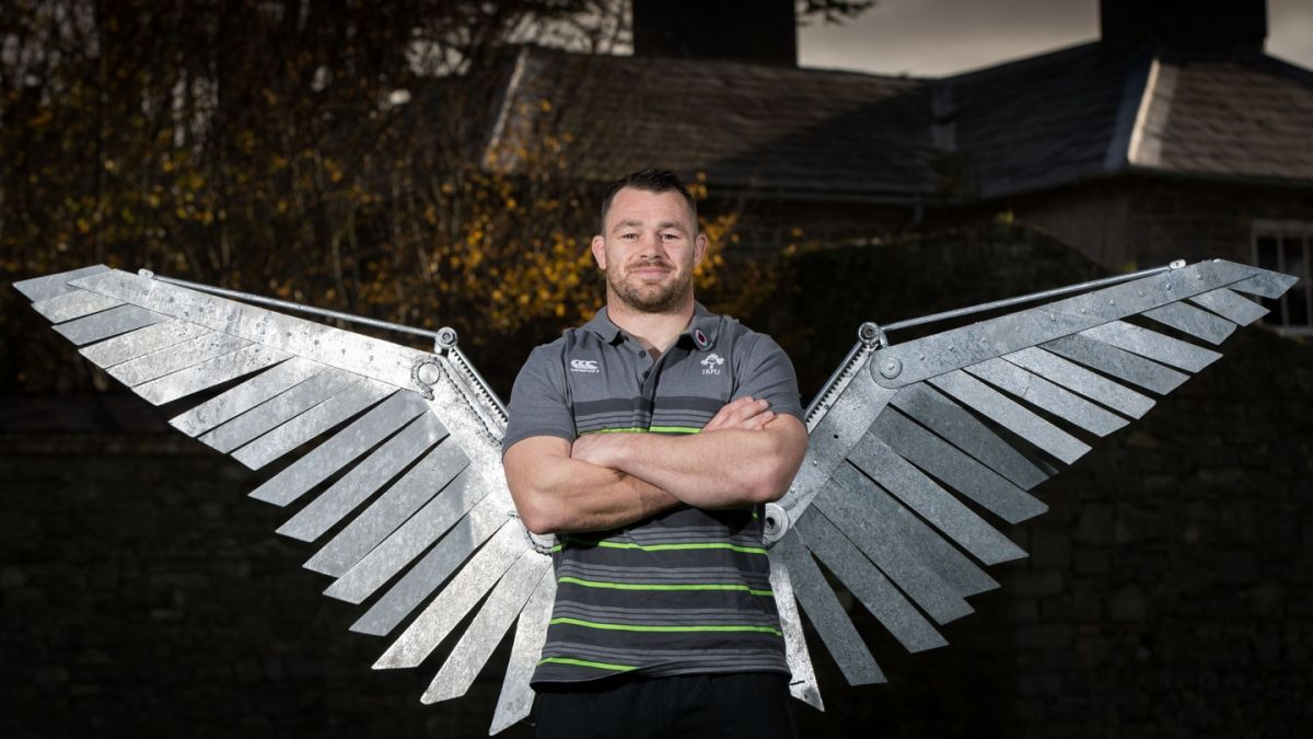 Cian Healy in flying form after losing weight and lifting the fitness