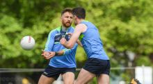 Zach Tuohy during Ireland International Rules  training in  Melbourne, Australia. Photograph:   Getty Images
