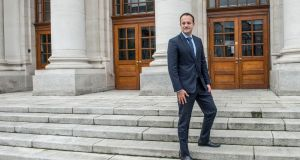 Taoiseach Leo Varadkar:  will not benefit from the unwinding of pay cuts provided under the Bill for other public servants by 2022. Photograph: Brenda Fitzsimons