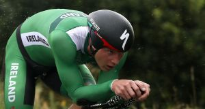 Ryan Mullen: the dual Irish road race and time trial champion has signed a two-year deal with the American WorldTour team. Photograph: EPA