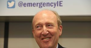 "Minister For Transport Shane Ross:  ""It was just an idea.""  Photograph: Sam Boal/RollingNews.ie"