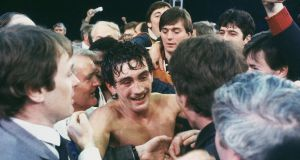 Barry McGuigan's achievements in 1985 were a topic of debate. Photograph: Getty Images